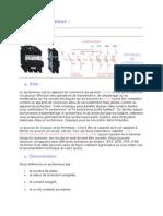 Sectionneur, Contacteur, Relai Thermique, Tempo (1)