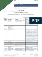 Connerat - FL Sup Ct - SC08-2338 - Docket Showing Dismissal