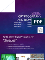 Visual Cryptography and Biometrics