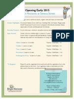 Seneca Street Fact Sheet