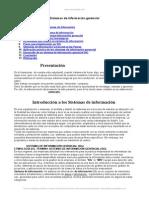 Sistemas Informacion Gerencial