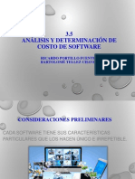 5.3 Analisis y Determinacion de Costos