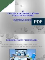 5.3 Analisis y Determinacion de Costos