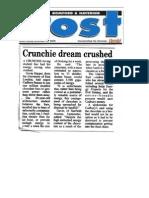 Crunchie Dream Crushed