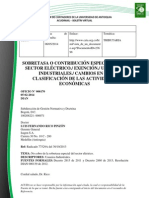 Doc. 624 sobretasa o contribución especial en el sector eléctrico. exención. usuarios industriales. cambios en la clasificación de las actividades económicas.pdf