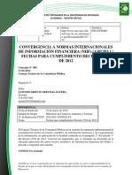 Doc. 635 convergencia a normas internacionales de información financiera grupo 1. fechas para cumplimiento decreto 2784 de 2012.pdf