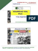 Seguridad Vial Peru y Los Ingenieros