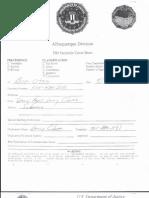 DOJ subpoena of Gary Bland e-mails