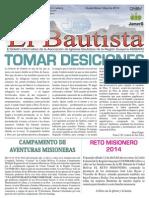 El Bautista Mayo 2014