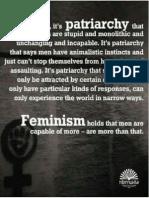 Patriarchy vs Feminism