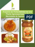 Exportación de Mermelada de Aguaymanto