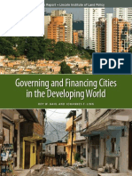 Governing and Financing Cities in the Developing World