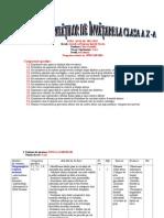 0 Proiectarea Unitatilor de Invatare Clasa a Xaan Scolar 20112012