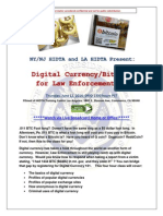 EBF-TRAINING ALERT Digital Currency Bitcoins for Law Enforcment Live Stream June 12 2014