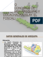 Aspecto Socioeconomico de Yarabamba(Arequipa) y El Fiscal(Cocachacra