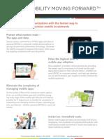 Apperian Overview Datasheet