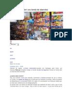 Consejos Para Abrir Una Tienda de Abarrotes