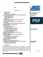 Atmel At2df161 Flash Datasheet