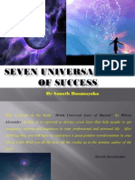 Seven Universal Laws of Success.