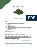 Tessa the Turtle Amigurumi