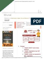 [Yearbook] India 2014_ How to Start_ Geography Preparation Plan, Sample MCQs - Mrunal
