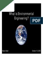 EnvE Program PSU 2007