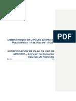 ECUN-Atencion Consultas Externas de Pacientes