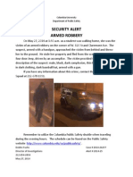 Public Safety Alert - May 27