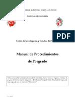 Manual Procedimiento Posgrado