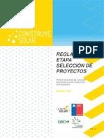 Reglamento Seleccion de Proyectos Construye Solar Santiago 2015
