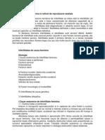 29. Infertilitatea Feminina Si Notiuni de Reproducere Asistata.