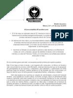 Boletín de Prensa Carnaval del Maíz / Marcha Mundial contra Monsanto en México 2014
