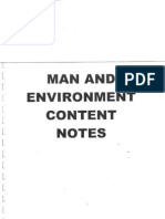Man Environ Notes