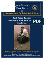 Joint Senate Heroin Addiction Task Force Final Report