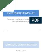 Empreendedorismo - P2