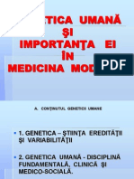 Curs 1 MG Introducere Si Structura ADN