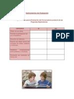 instrumentos de evaluacin pares