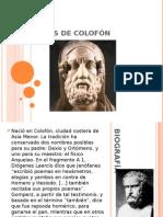 Jenófanes de Colofón