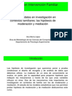 Spss Analisis Regresion Variables Mediadoras vs Moderadoras