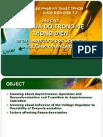 Asynchronous Operationand Resynchronization