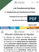 Difusion Molecular en Liquidos