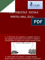 Contributii Sociale 2013