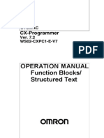 TM.omro.Omron CX-Programmer V7-2 Operation Manual M11W4470907