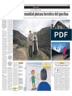 Chilcapampa, la comunidad piurana heredera del quechua