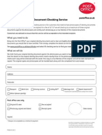 Post Office Identity Checking Service