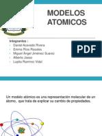 exposicion Modelos Atomicos