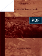 Guide to a Humane Self-Chosen Death - Pieter Admiraal (2006)