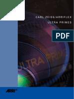 ARRI UltraPrimes Brochure