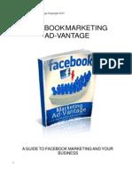 Facebook Marketing Advantage New