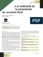 437_PP 08 2011  Modificacion coeficiente utilidad por dictamen fiscal.pdf